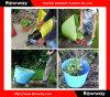 Пластичное ведро инструментов сада, гибкие цветочные горшки