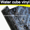 Nuovo Arrival 3D Water Cube Car Wrap Vinyl Film
