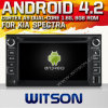 KIA Spectra (W2-A7517)를 위한 Witson Android 4.2 System Car DVD
