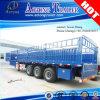 家畜はトラックのトレーラーの半囲を運ぶ