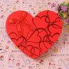 Rectángulo en forma de corazón del caramelo del rectángulo del chocolate del Bowknot de los rectángulos de regalo