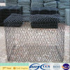 Galfan/Hotは浸したGalvanized/PVC/PEによってGabionの塗られた網(XA-GM15)を