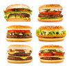 Автоматическая выкружка наггетов мяса гамбургера формируя машину