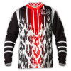 Motocicleta nova Heated respirável Jersey do Sublimation do projeto (MAT30)