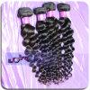 Extensão indiana deDerramamento não processada crua do cabelo do Virgin da onda grande