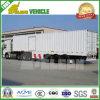 閉鎖モデル3車軸バルク貨物トレーラー
