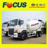 De wijd Gebruikte Mixer van de Vrachtwagen van 10cbm Concrete met Hinochassis