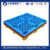 Assoalho qualificado popular de Palltes do material plástico que empilha a pálete plástica