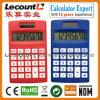 8 dígitos se doblan la calculadora de bolsillo de la potencia LC331