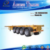 53ft Container Trailer Chassis, Skeleton Container Semi Trailer