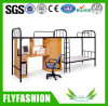 Desk Dormitory Bed Dormitory Furniture를 가진 2 Persons Use Bunk Bed
