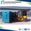 Fábrica de tratamento da água de esgoto do edifício do console