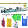 Volles Automatic Non Woven Fabric Flat Bag Making Machine Price mit Handle