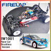 Coche de carreras 1/10 de Firelap Iw1001 Brushless con Blue Shape