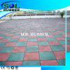 Azulejo al aire libre certificado CE del caucho del suelo del patio de la alta calidad