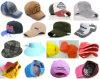 Os tipos diferentes personalizam chapéus da forma