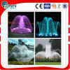 Colorful LED Light Garden Utiliser la source d'eau intérieure Fountain Ring