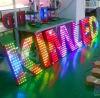 주문을 받아서 만들어진 옥외 LED에 의하여 드러내는 빛난 LED 채널 편지