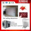 A mandioca lasca o secador comercial do vegetal da máquina do desidratador da mandioca da máquina de secagem