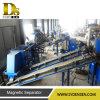 Linha de recicl automática para as matérias- primas que contêm o alumínio