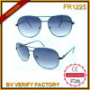 Vidros de Sun do Ce do Zipper de FM14014 Gafas De Solenóide Piloto Von