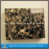 A pedra artificial barata de quartzo de Brown/misturou o quartzo da cor
