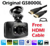 HDMI Full HD1080p高いDefinition Videoの最もよいSale Car DVR GS8000L Camera 2.7inch LCD