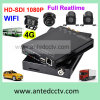 WiFi 4G 2CH 4 Channel in Car DVR Recorder für Sicherheitssystem