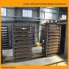 De Drogende Kamer van de Oven van de Tunnel van het Blok van de klei voor de Installatie van de Baksteen