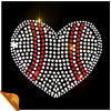 熱いSale Heart Fashion Hotfix Rhinestone Motif (kk)