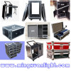Wheels Road Case、DJ Flight Case Equipment Case、TV Flight Case Ys-1108のアルミニウムCase Flight Case