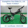 suspensão mini Ebike do motor de 20 '' 250W Bafun com bicicleta elétrica Foldable/dobrando-se removível da bateria, bicicleta elétrica
