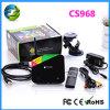 Quarte-Core de la livraison rapide CS968 Rk 3188 Construire-dans 2.0MP Camera Smart TV Box