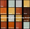 PVC Folding Door Designs pour Building Materials, chambre à coucher, Bathroom
