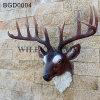 Decoração principal animal da parede da cabeça dos cervos da parede de Polyresin