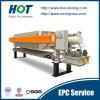 Prensa de filtro de desecación profunda de membrana del lodo automático