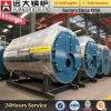 Caldeira de vapor despedida /Gas horizontal industrial da saída do petróleo de Wns