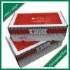 Boîte en carton personnalisée en carton rouge