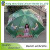 Guarda-chuva de praia direta de impressão personalizada para eventos
