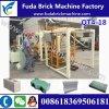 Machine de brique de trottoir de machine de brique pleine du support Qt4-18 Hydraform