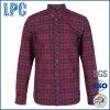 Camicia normale casuale su ordinazione degli uomini di marca della fabbrica