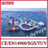 O melhor mar inflável colorido de venda flutua o parque do Aqua para a venda -- Preço de fábrica de Lilytoys