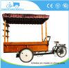 Elektronische oder Pedal-Kaffee-Fahrrad-Nahrungsmittelkleinkarre MOQ 1