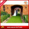 Césped sintetizado al aire libre Wedding de la hierba decorativa