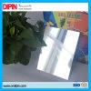 Почищенный щеткой серебряный лист пластмассы ABS гравировки вырезывания CNC лазера