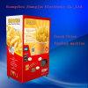 La moneta fa funzionare il distributore automatico fresco delle fritture di periodo ridotto da vendere