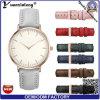 Signora Classic Watch, vigilanza bollata lusso di modo del fornitore della Cina del commercio all'ingrosso Yxl-586 2016 della vigilanza della lega del coperchio posteriore dell'acciaio inossidabile