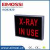 Sinal não ofuscante no uso do sinal acautelar-se do método do diodo emissor de luz  raio X