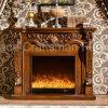 旧式なホーム家具の暖房および照明電気暖炉(331)