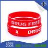 Wristband variopinto promozionale del silicone del campione libero del regalo